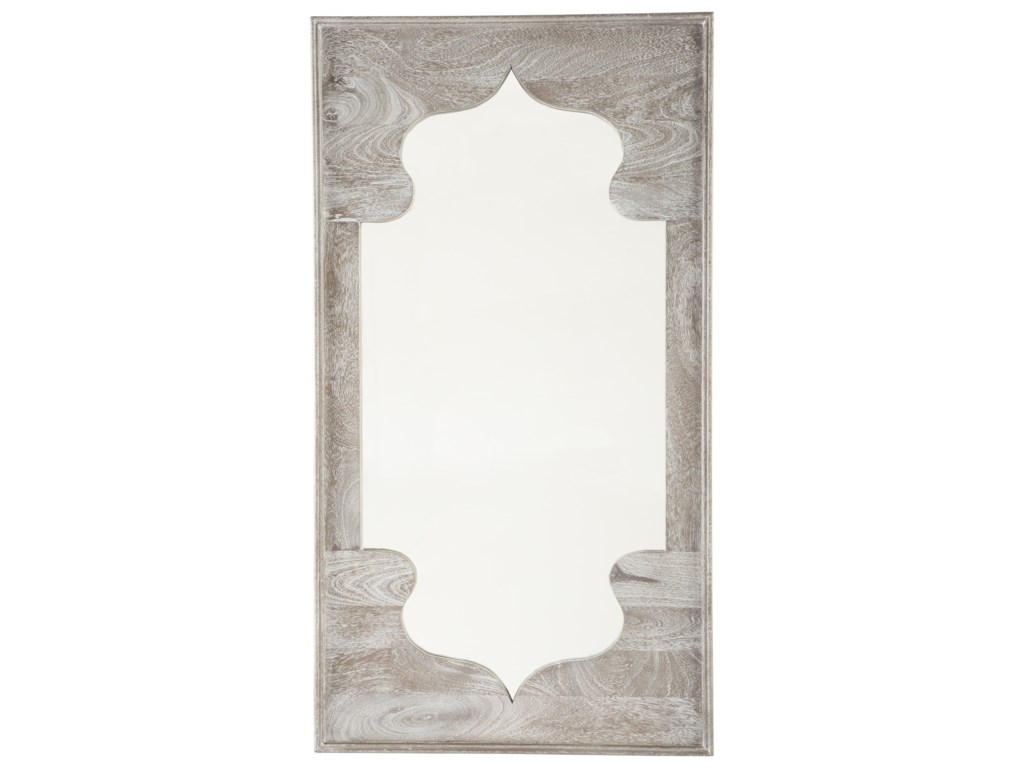 Ashley Signature Design Accent MirrorsBautista Antique Gray Accent Mirror