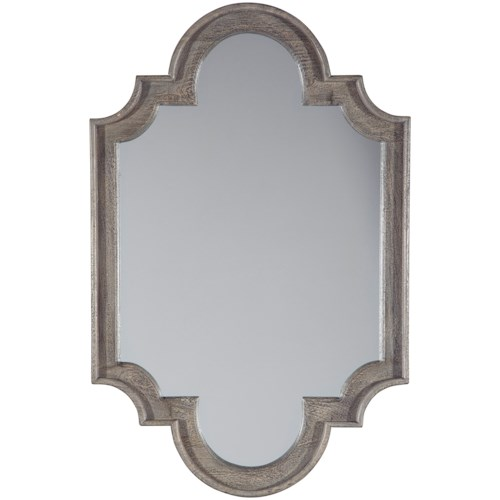 Signature Design by Ashley Accent Mirrors Williamette Antique Gray Accent Mirror