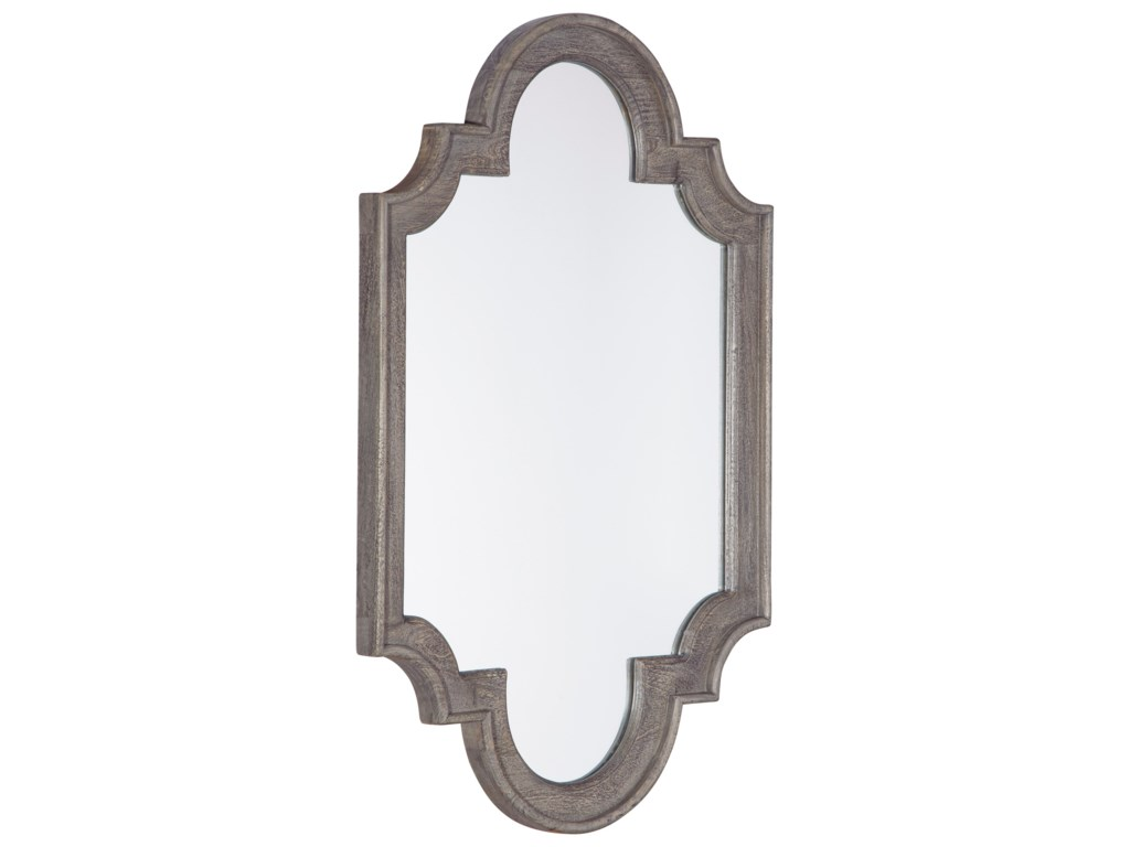 Signature Design by Ashley Accent MirrorsWilliamette Antique Gray Accent Mirror
