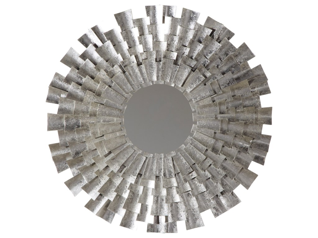 Vendor 3 Accent MirrorsZelenak Silver Finish Accent Mirror