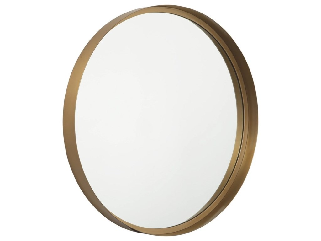 Signature Design by Ashley Accent MirrorsElanah Gold Finish Accent Mirror