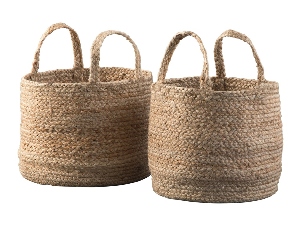 Ashley (Signature Design) AccentsBrayton Natural Basket Set