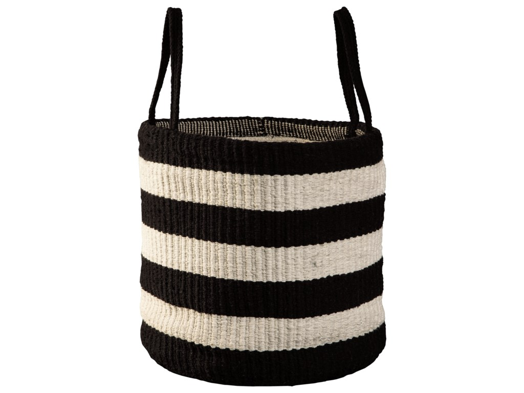 Signature Design by Ashley AccentsEdgerton Black/White Basket
