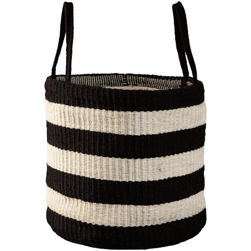 Signature Design by Ashley Accents Edgerton Black/White Basket