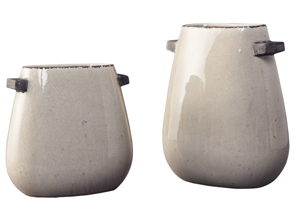 Ashley (Signature Design) AccentsDiah Tan Vase Set