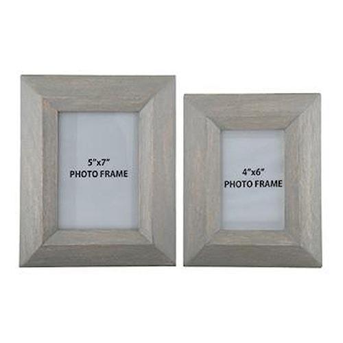 Signature Design by Ashley Accents Cadewyn Gray Photo Frames (Set of 2)
