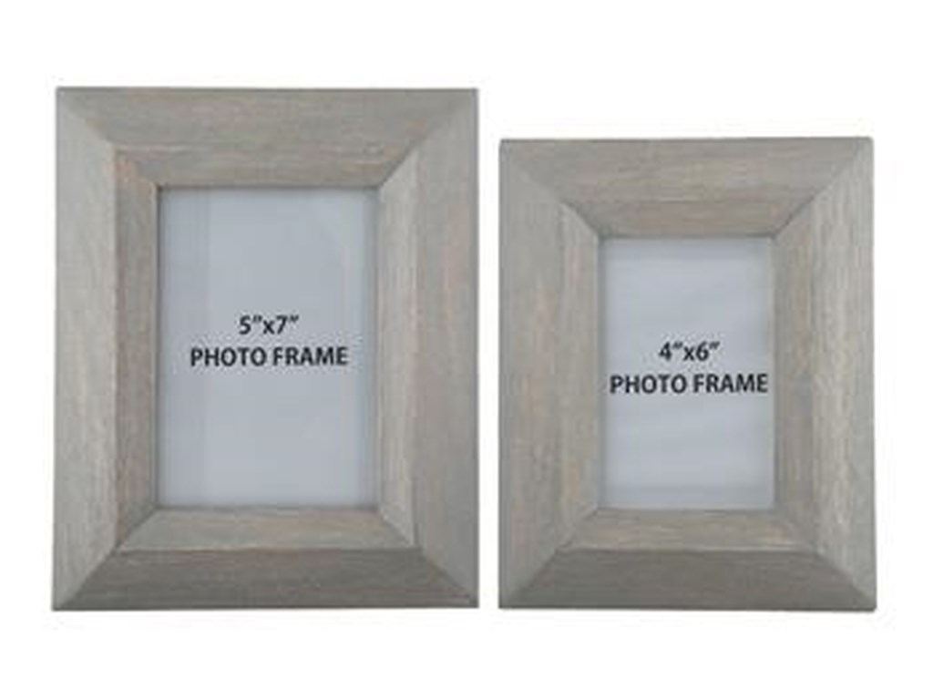 Signature Design by Ashley AccentsCadewyn Gray Photo Frames (Set of 2)