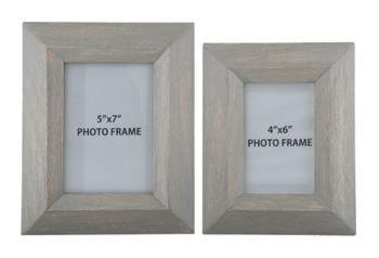 Signature Design by Ashley AccentsCadewyn Gray Photo Frames (Set of 2)