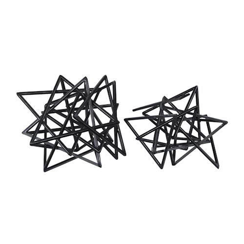 Signature Design by Ashley Furniture Accents Contemporary Sculptures (Set of 2)