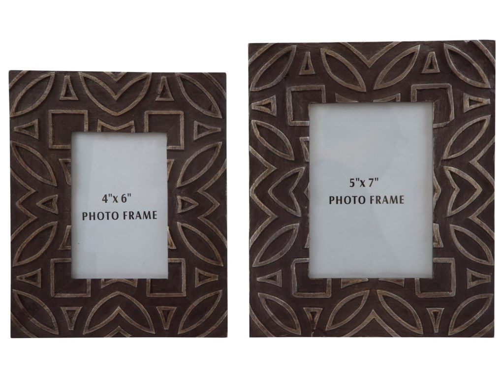 Signature Design by Ashley AccentsMarquise Antique Black Photo Frame, Set of 2