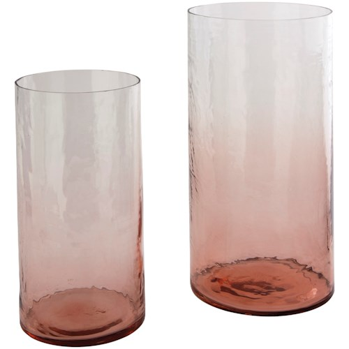 Signature Design by Ashley Accents Devona Pink Vase Set