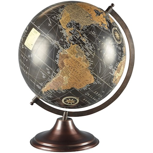 Signature Design by Ashley Accents Oakden Multi Globe Sculpture