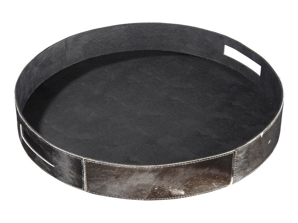 Ashley (Signature Design) AccentsOdeda Black Tray