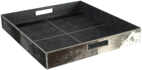Signature Design by Ashley Accents Odeda Black Tray