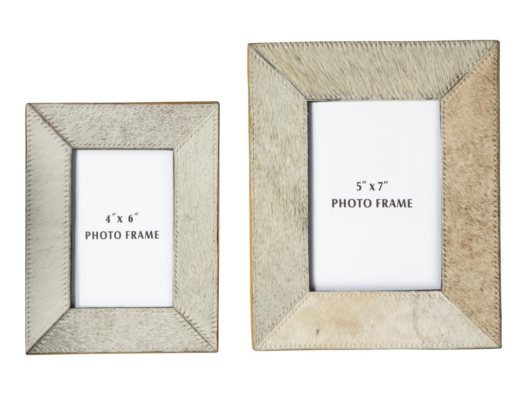 Signature Design by Ashley AccentsOdeda Beige Photo Frame (Set of 2)