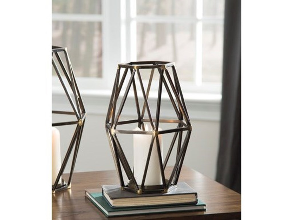 Ashley Signature Design AccentsDevo Small Candle Holder