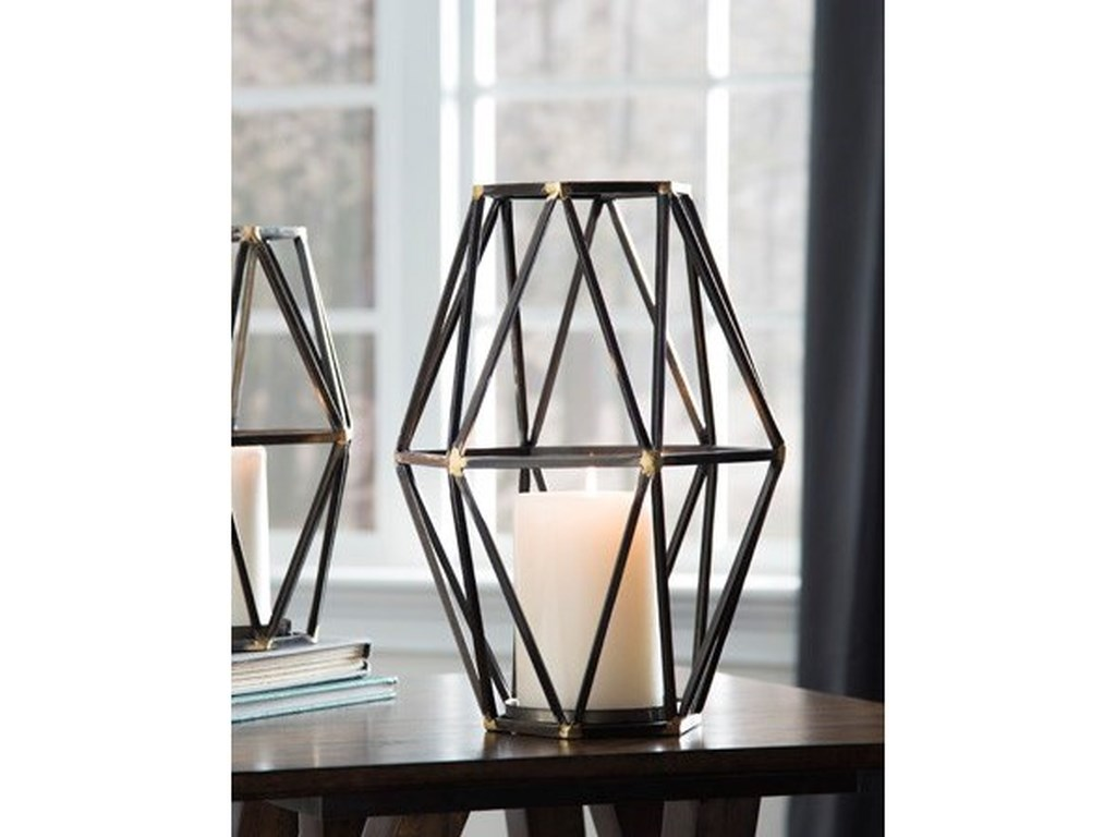 Signature Design AccentsDevo Candle Holder
