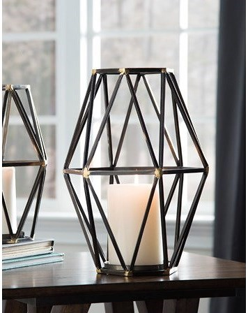 Signature Design by Ashley Accents Devo Candle Holder