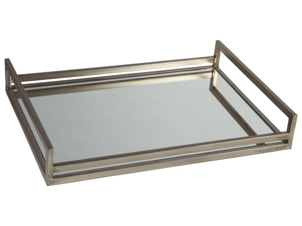 Ashley Signature Design AccentsDerex Silver Tray