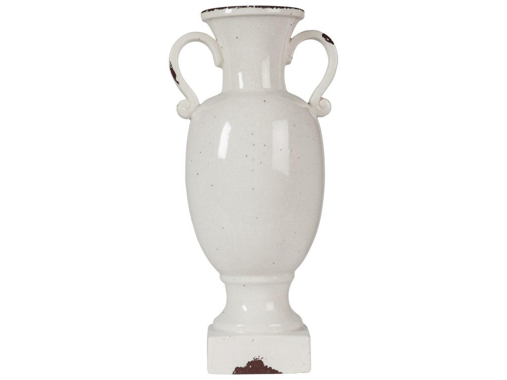 Signature Design by Ashley AccentsDiedra Antique White Urn