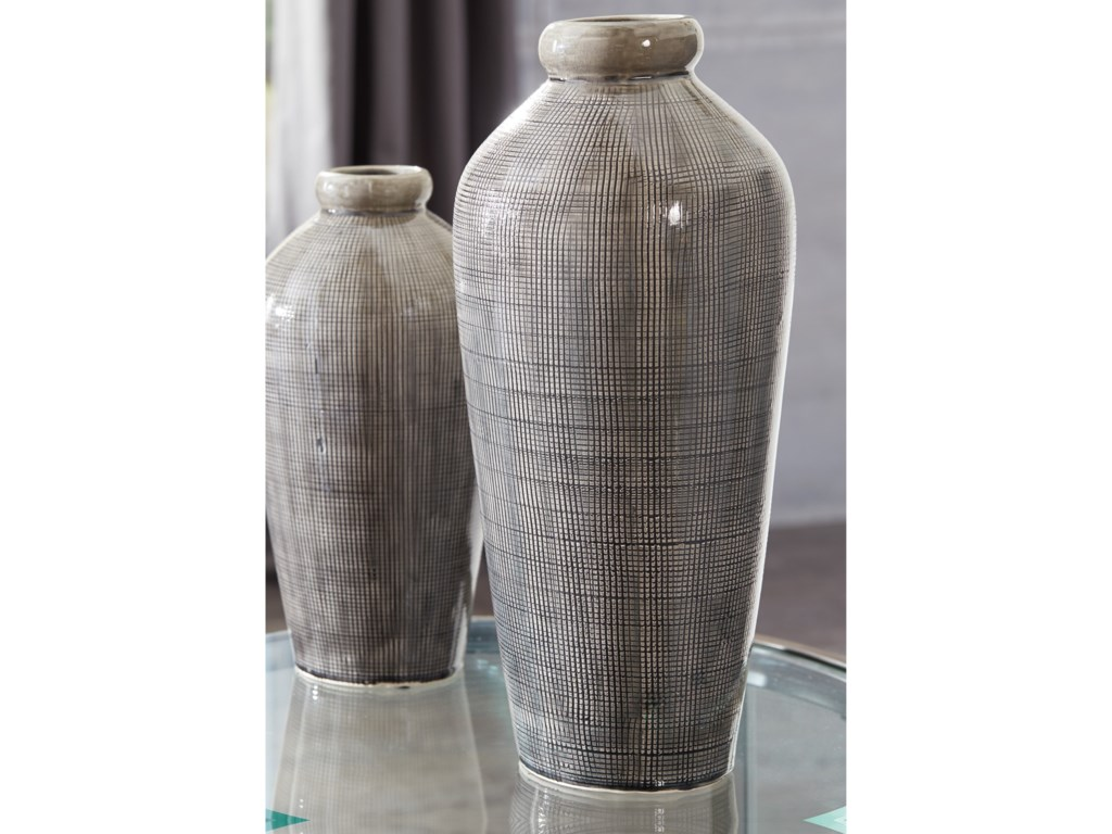 Signature Design by Ashley AccentsDilanne Gray Vase