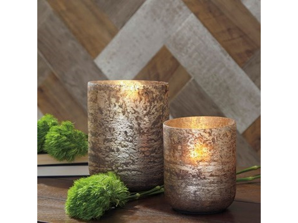 Ashley Signature Design AccentsChristelle 2-Piece Candle Holder Set