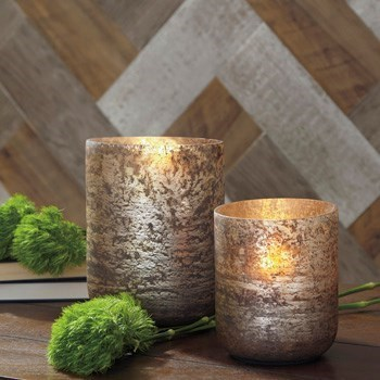 Signature Design by Ashley AccentsChristelle 2-Piece Candle Holder Set