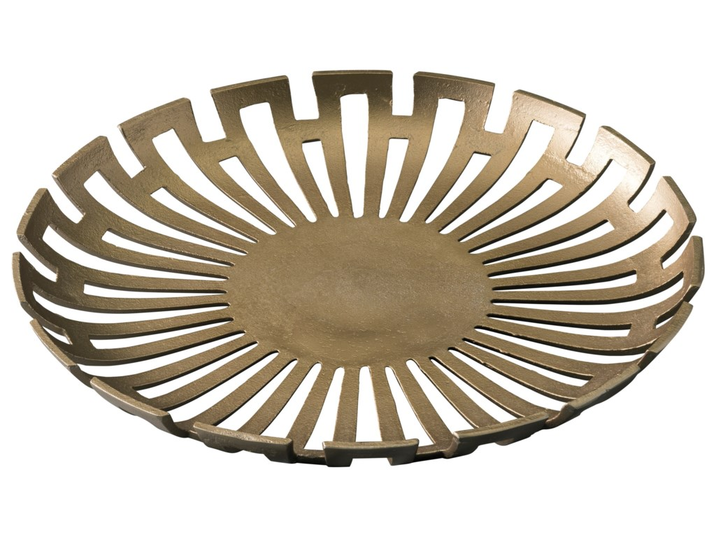 Signature Design by Ashley AccentsColine Gold Finish Tray
