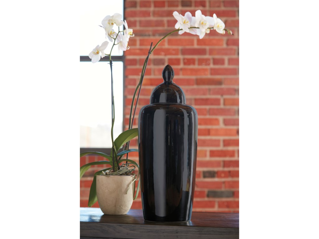 Signature Design by Ashley AccentsDerrick Black Urn