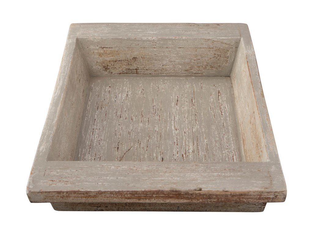 Signature Design by Ashley AccentsMichaiah Antique White Tray