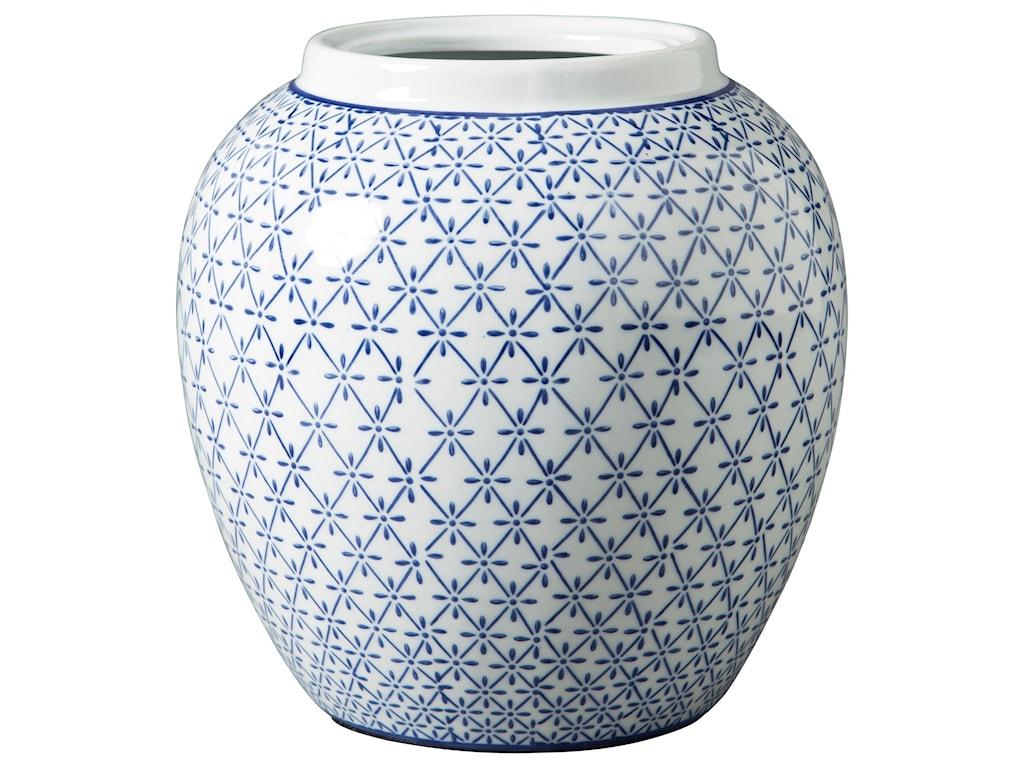 Trendz AccentsDionyhsius Blue/White Vase