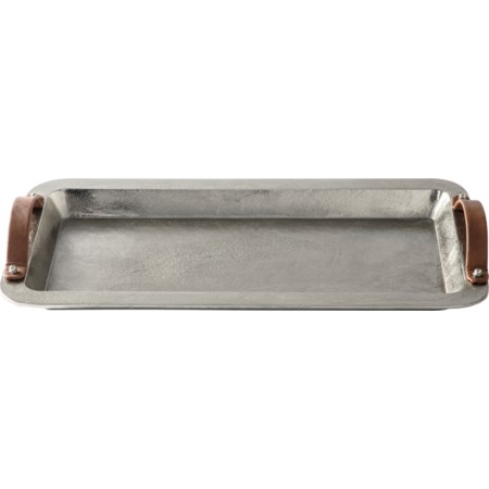 Joelle Silver Finish Tray