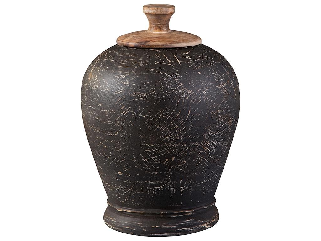 Signature Design by Ashley AccentsBarric Antique Black Jar