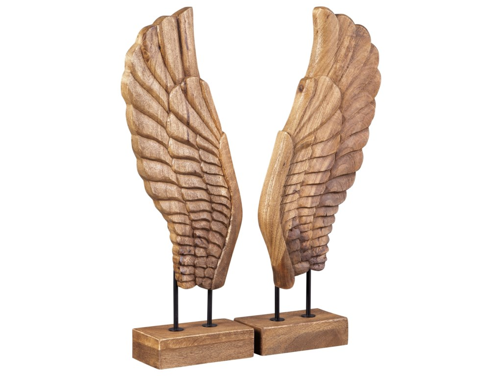 Signature Design by Ashley AccentsBranden Natural Sculpture Set