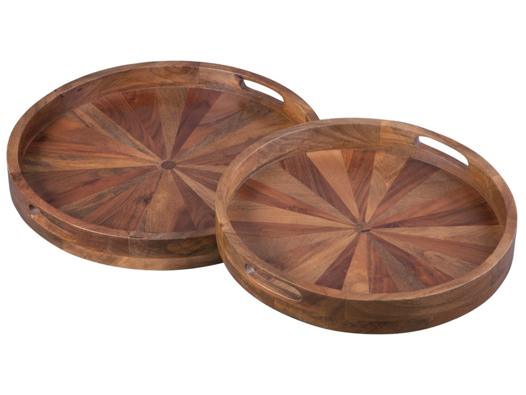 Signature Design by Ashley AccentsLucio Natural Tray Set