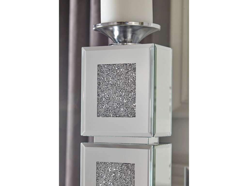 Signature Design by Ashley AccentsCharline Candle Holder (Set of 2)