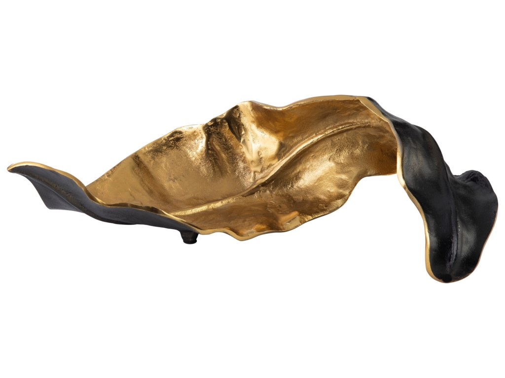Signature Design by Ashley AccentsMelinda Black/Gold Finish Sculpture