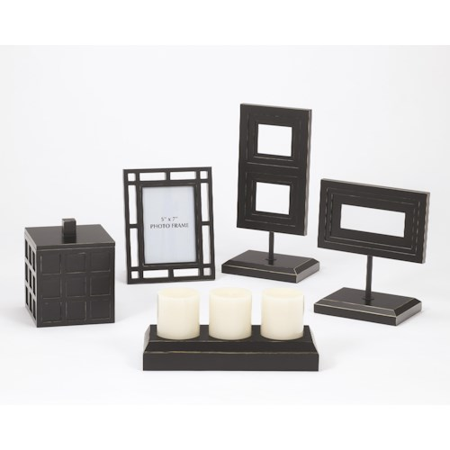 Signature Design by Ashley Furniture Accents Deidra Accessory Set