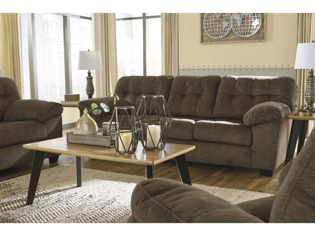 Signature Design by Ashley AccringtonSofa and Recliner Set