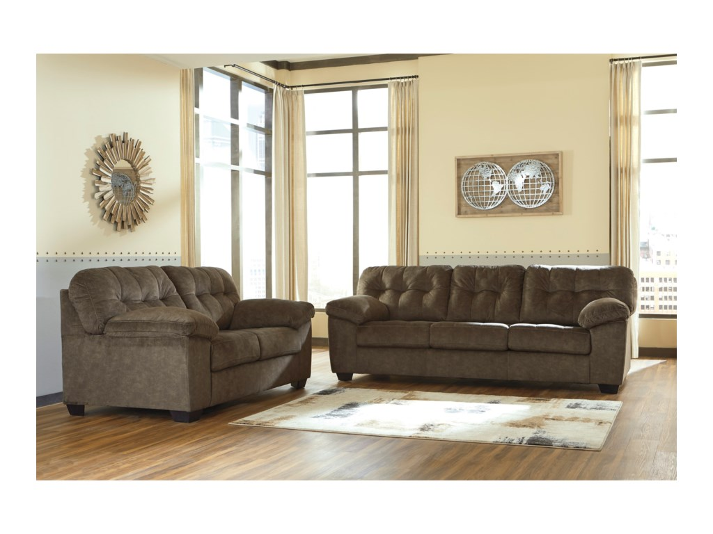 Ashley (Signature Design) AccringtonStationary Living Room Group