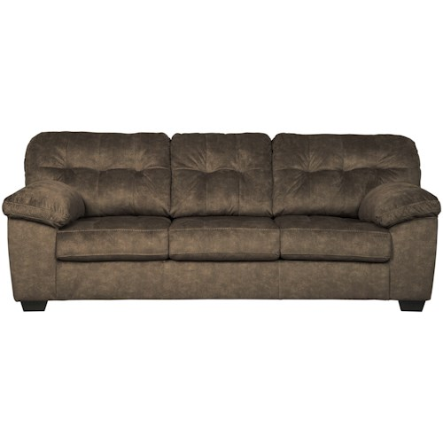 Signature Design by Ashley Accrington Casual Contemporary Queen Sofa Sleeper