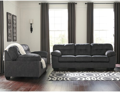 Signature Design by Ashley Accrington Stationary Living Room Group