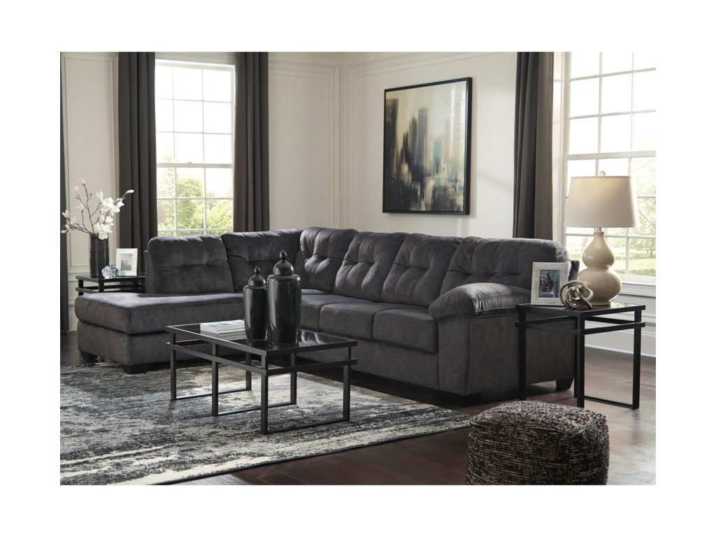 Ashley (Signature Design) AccringtonSectional with Left Chaise