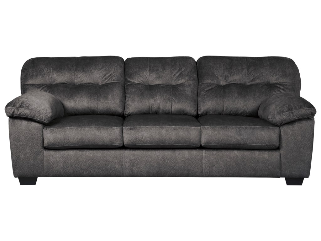 Signature Design by Ashley Accrington Casual Contemporary Sofa ...