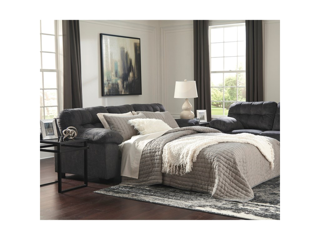 Ashley Signature Design AccringtonQueen Sofa Sleeper