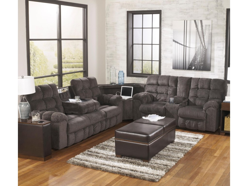 Coordinating Collection Rocker Recliner Shown Right Corner