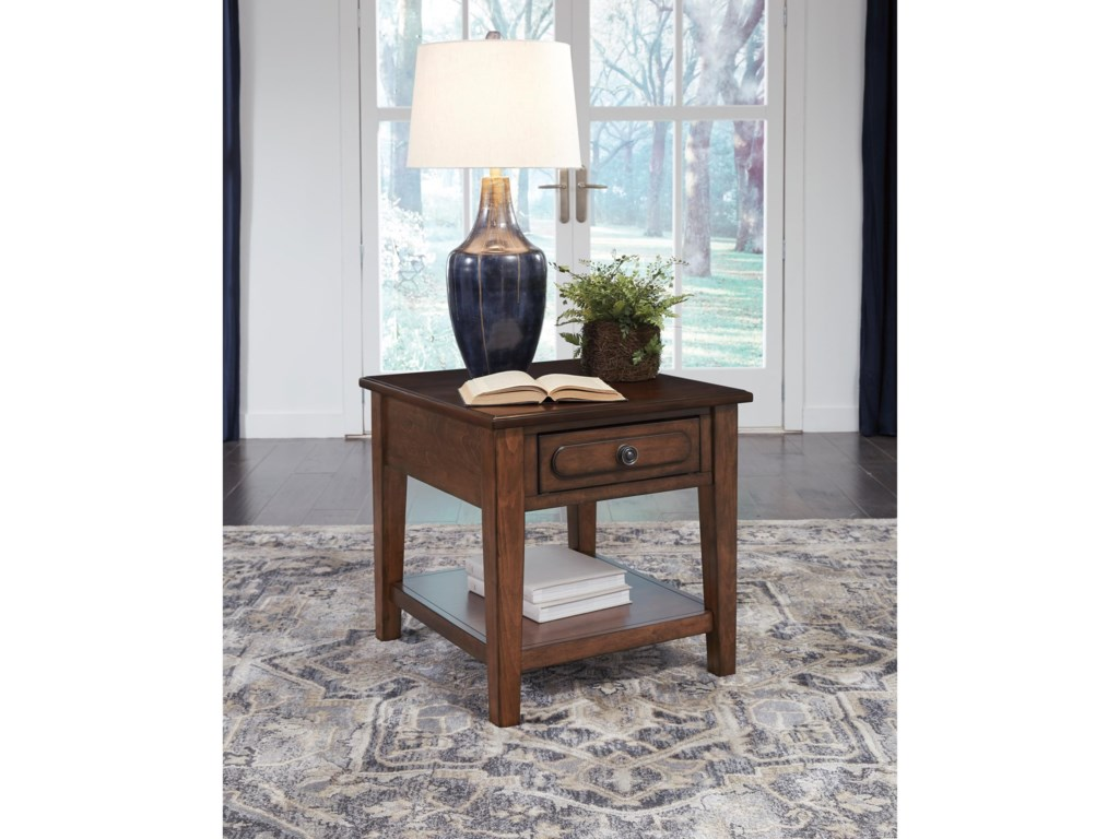 Signature Design by Ashley AdintonRectangular End Table