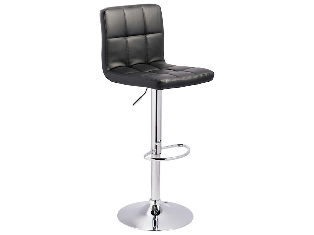 Ashley (Signature Design) Adjustable Height BarstoolsTall Upholstered Swivel Barstool