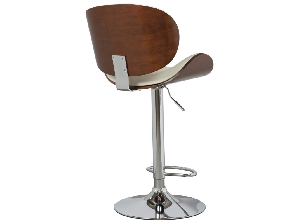 Ashley (Signature Design) Adjustable Height BarstoolsTall Upholstered Swivel Barstool