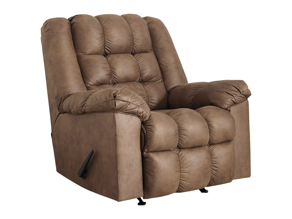 Signature Design by Ashley AdranoRocker Recliner with Heat and Massage